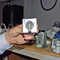 Переключатель фаз штукатурной станции - фото 5522