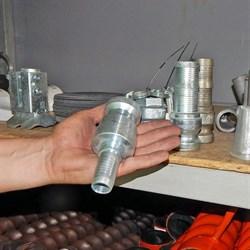 Соединение Camlock 25 мм, литое папа без резьбы - фото 5571