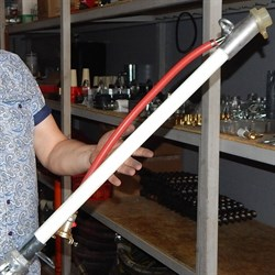 Пистолет растворный диам 25 мм  1000 мм с вращающимся соединением - фото 5726