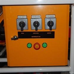 Щит управления штукатурной станции - фото 5792