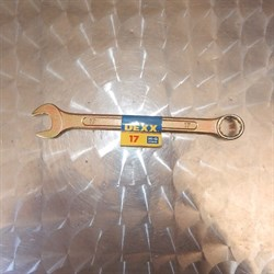 Ключ комбинированный 17 для установки шнековых пар - фото 5918
