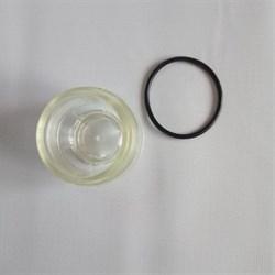 Камера редуктора понижения давления воды пластиковая крышка 1/4 - фото 5920
