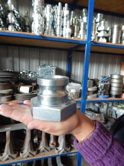 Соединение Camlock 50 мм, литое папа с резьбой. - фото 5931