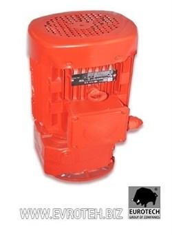 Мотор редуктора штукатурной станции 380 V, 5.5 kW, 368об/мин. - фото 6045
