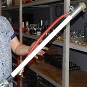 Пистолет растворный диам 25 мм  1000 мм с вращающимся соединением