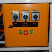 Щит управления штукатурной станции